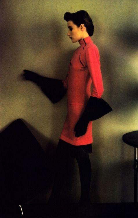 Harper's Bazaar. 1986 год. Фотограф Шейла Мецнер