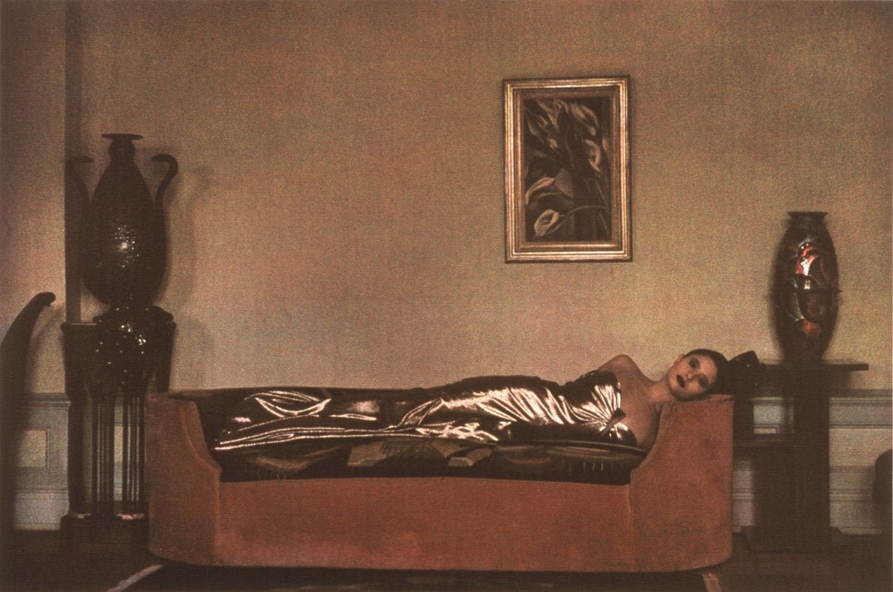 Аромат. Ар-деко, 1984 год. Фотограф Шейла Мецнер
