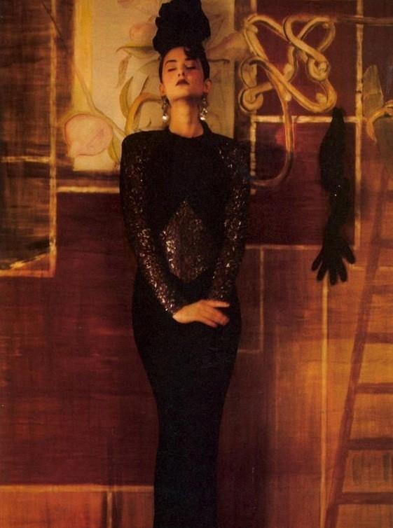 Для Vogue. 1985 год. Фотограф Шейла Мецнер