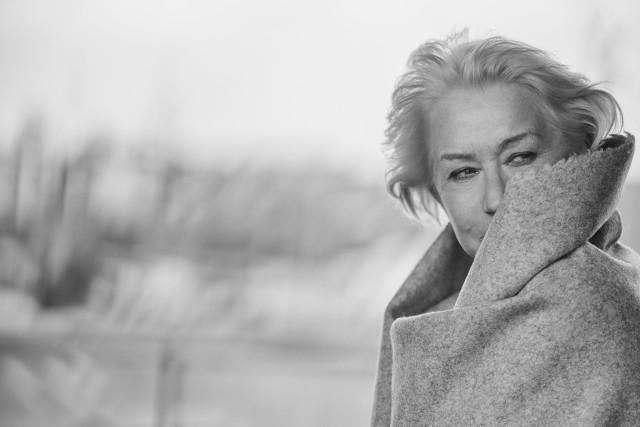 Хелен Миррен. «Календарь Пирелли», 2017. Фотограф Петер Линдберг