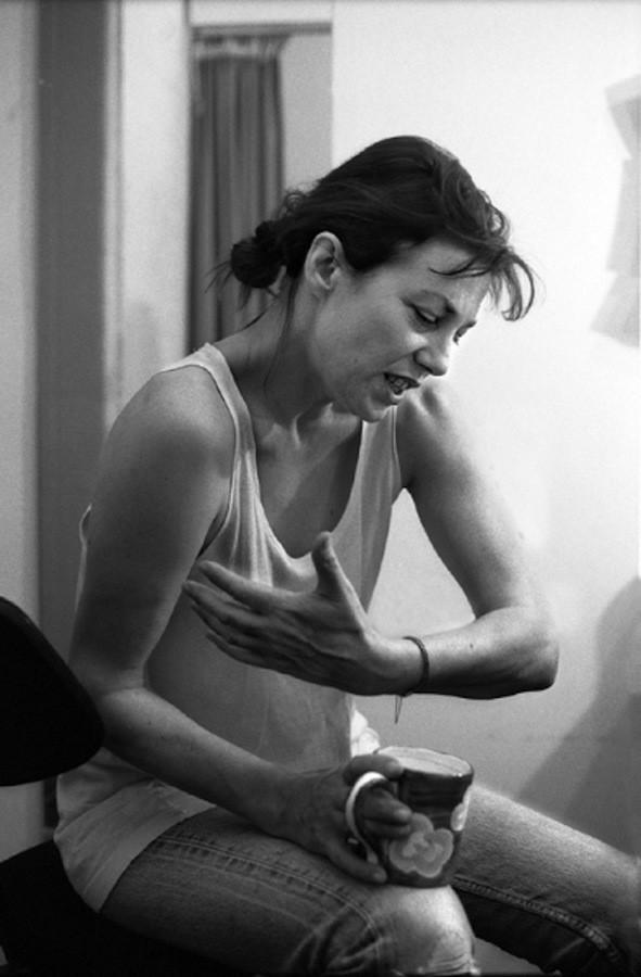 Джейн Биркин. Фотограф Саймон Аннанд