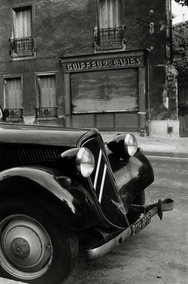 Citroen, 1967 год. Фотограф Жан-Филипп Шарбонье