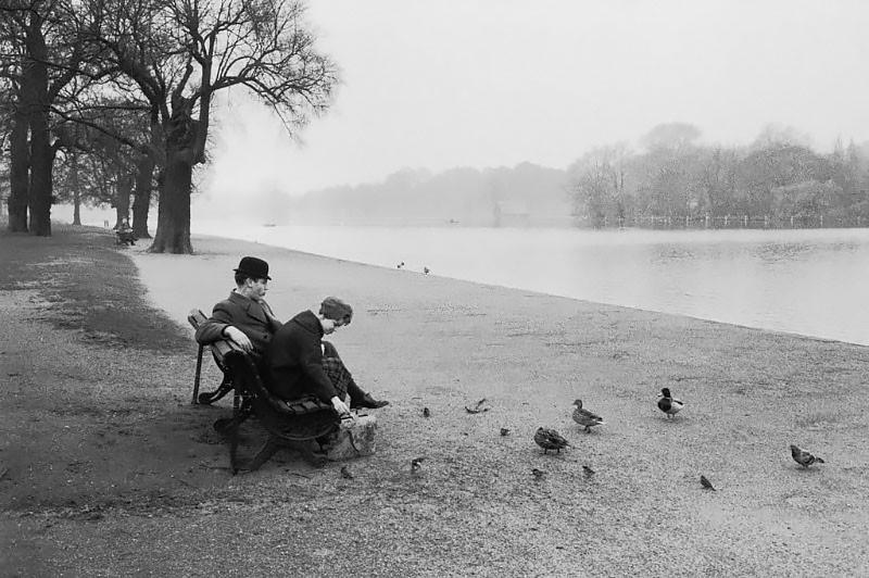 Англия, 1950-е годы. Фотограф Жан-Филипп Шарбонье