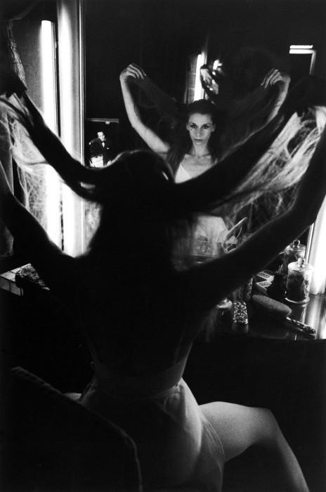 Прима-балерина Гилен Тесмар. Парижская опера, 1977 год. Фотограф Жан-Филипп Шарбонье