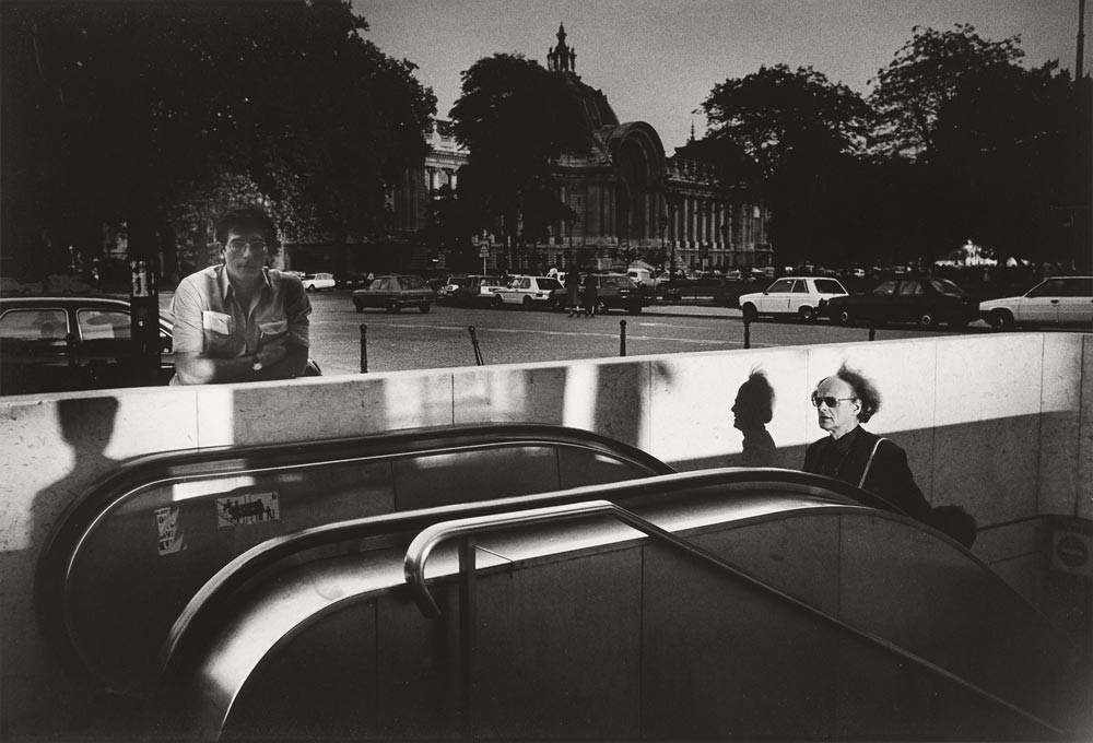 Большой дворец (Гран-Пале).  Париж,1984 год. Фотограф Жан-Филипп Шарбонье