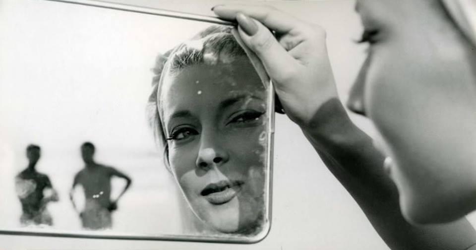 Фотография для рекламной кампании Хелены Рубенштейн, 1960 год. Фотограф Жан-Филипп Шарбонье