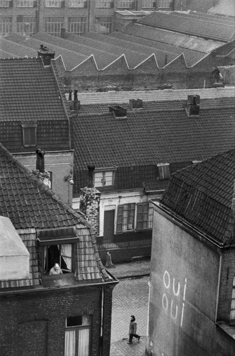 Вид на крыши. Рубе, Франция. Фотограф Жан-Филипп Шарбонье