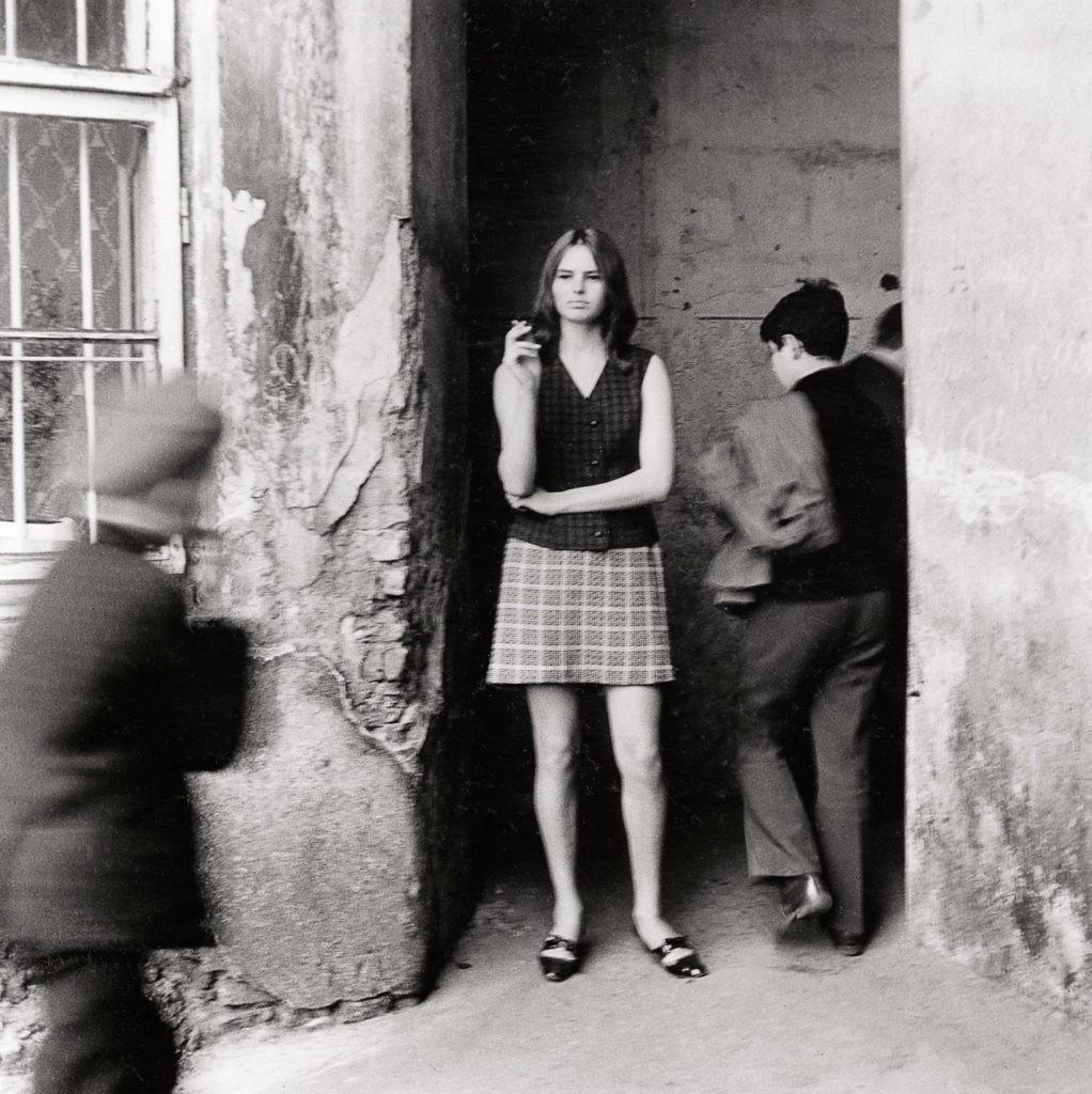 Перекрёсток, 1969. Из цикла «Впечатления». Фотограф Витас Луцкус