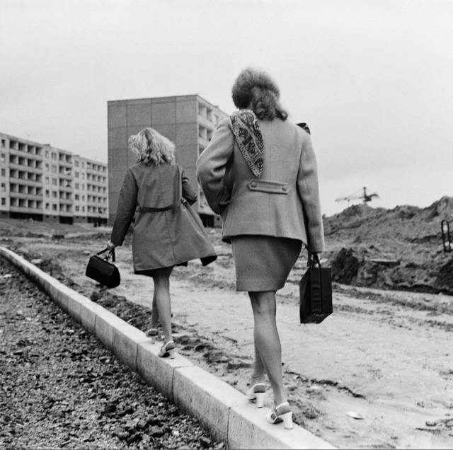 Тротуар, Вильнюс, 1976. Фотограф Антанас Суткус