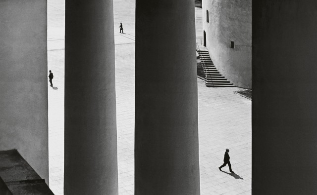 Архитектура старого Вильнюса, 1964. Фотограф Ромуальдас Ракаускас