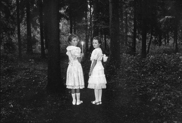 Девочки. Фотограф Виргилиус Шонта