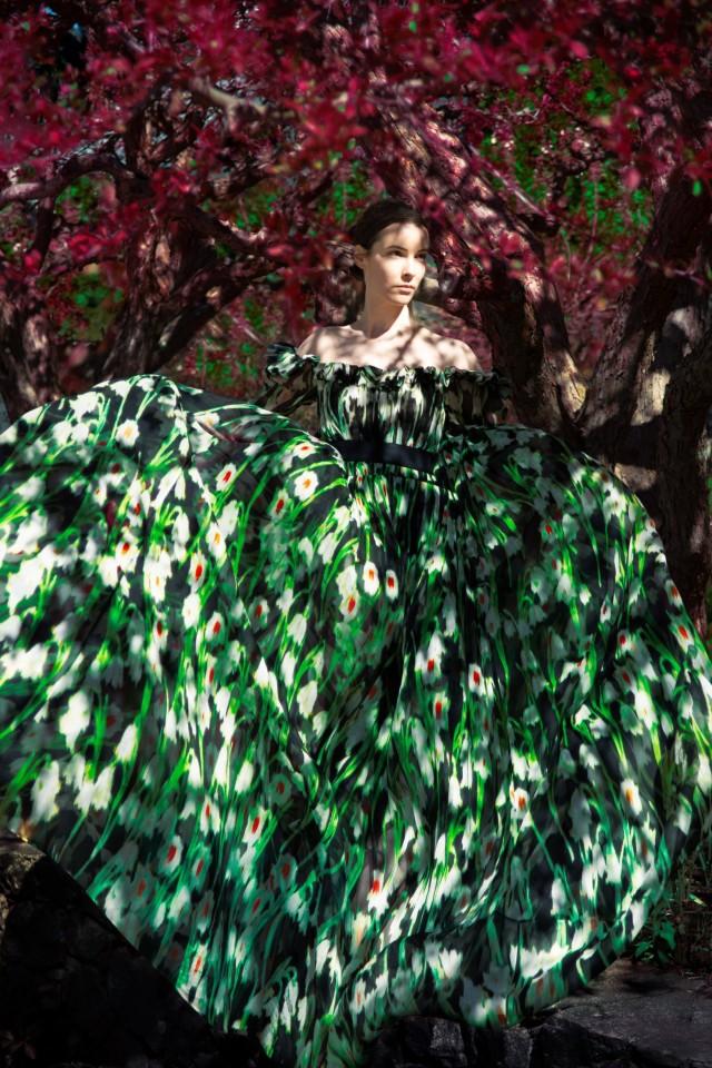 Carolina Herrera, весна-лето, 2020 год. Фотограф Эрик Мадиган Хек
