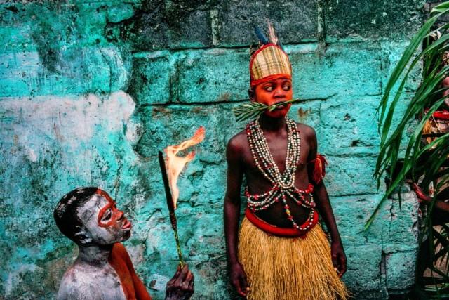 Дети из района Бандунду. Киншаса, Конго. Фотограф Паскаль Мэтр