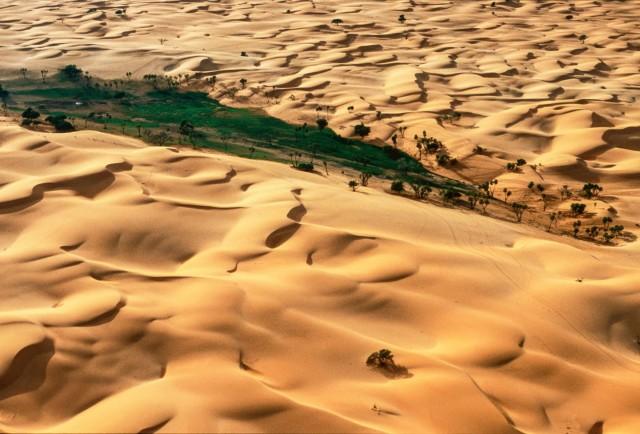 Дюны близ города Гудумария, Нигер. Фотограф Паскаль Мэтр