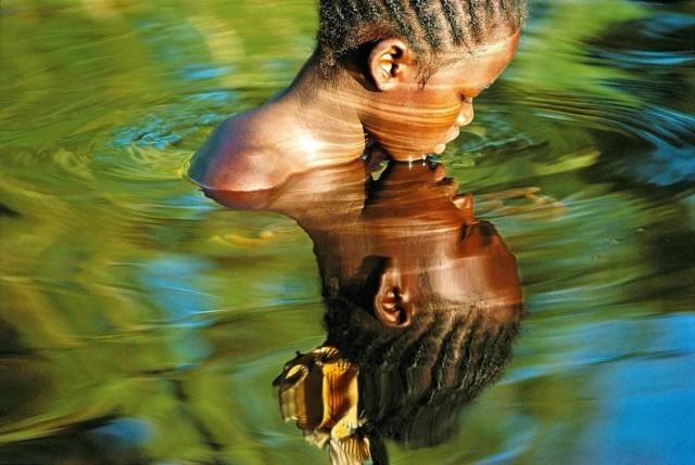 Зеркало воды. Пангаланский канал, Мадагаскар. Фотограф Паскаль Мэтр