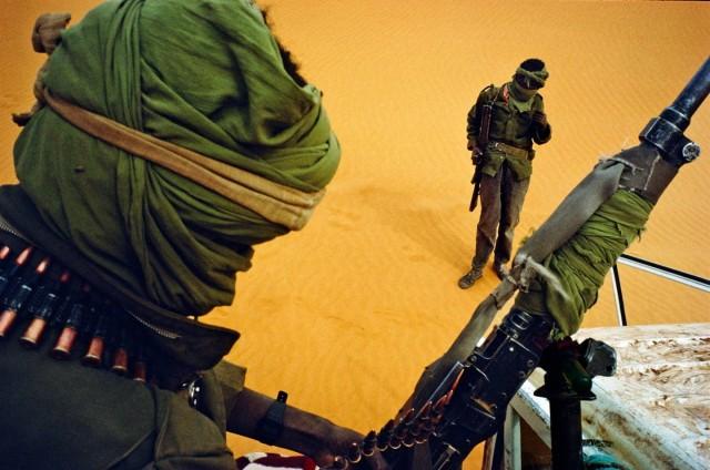Туарегские повстанцы, Нигер, 1993. Фотограф Паскаль Мэтр