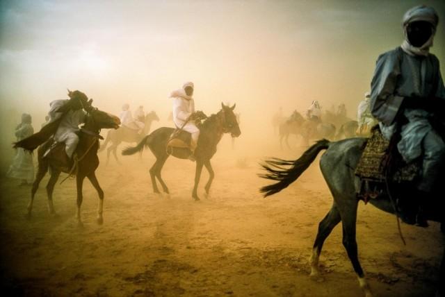 Чад, охваченный песчаной бурей. Фотограф Паскаль Мэтр