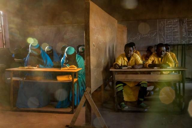 Школа исламского реформаторского течения Изала в городе Агадес, Нигер, 2018. Фотограф Паскаль Мэтр