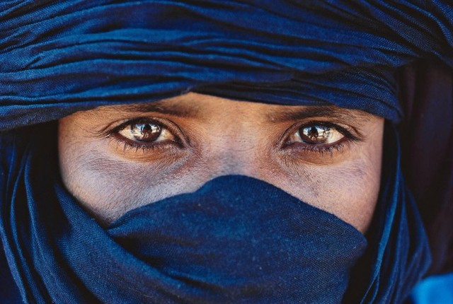 Туарег в районе Аир (южная часть пустыни Сахара), Нигер. Фотограф Паскаль Мэтр