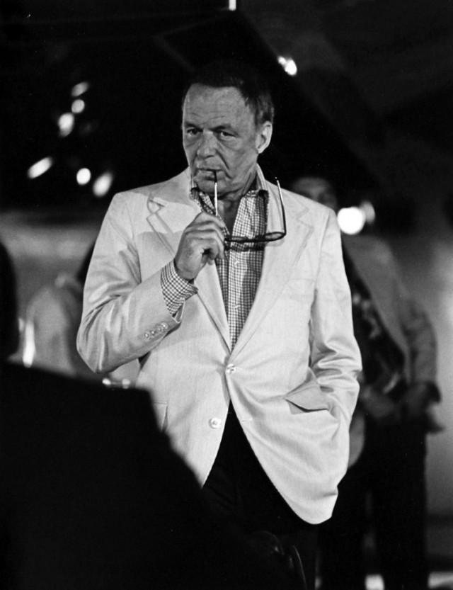 Певец Фрэнк Синатра, «Студия 54», 1977 год. Фотограф Рассел С. Туриак