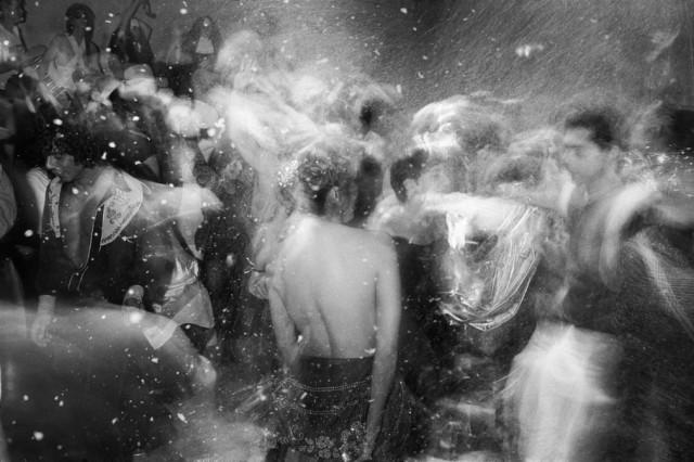 Танцпол в Хэллоуин, «Студия 54», 1978 год. Фотограф Хассе Перссон