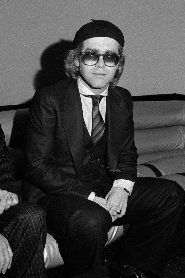 Певец Элтон Джон в «Студия 54», 1977 год. Фотограф Сьюзан Вильямс