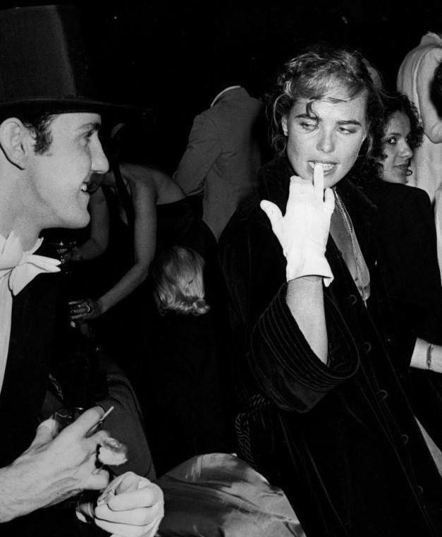 Модель, актриса, внучка писателя Эрнеста Хемингуэя Марго Хемингуэй была частой гостьей «Студия 54»