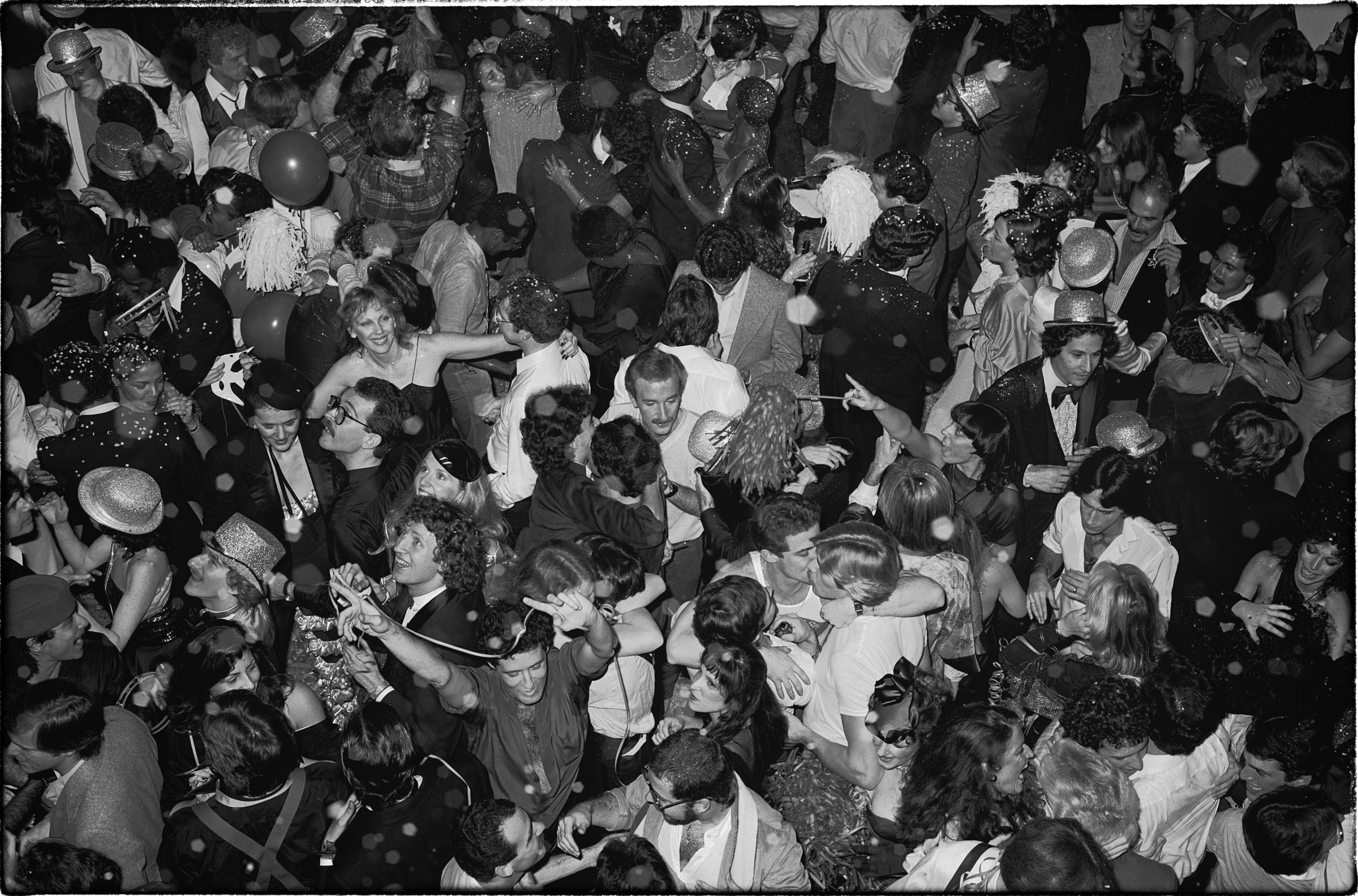 Новогодняя вечеринка в «Студия 54». Фотограф Тод Пападжордж