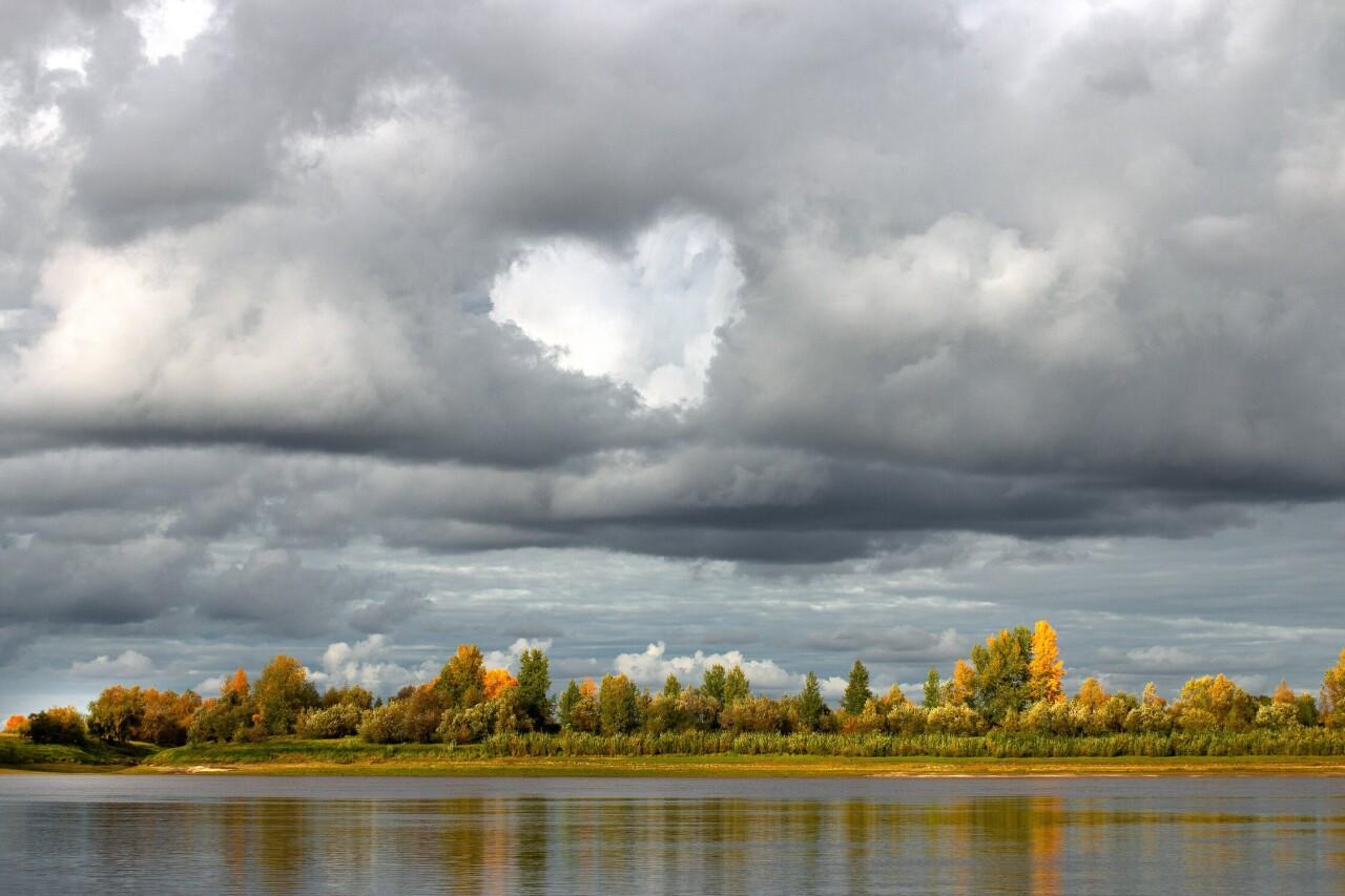 Номинант, 2021. «Лайк от природы». Река Иртыш близ Тобольска. Автор Денис Григорьев