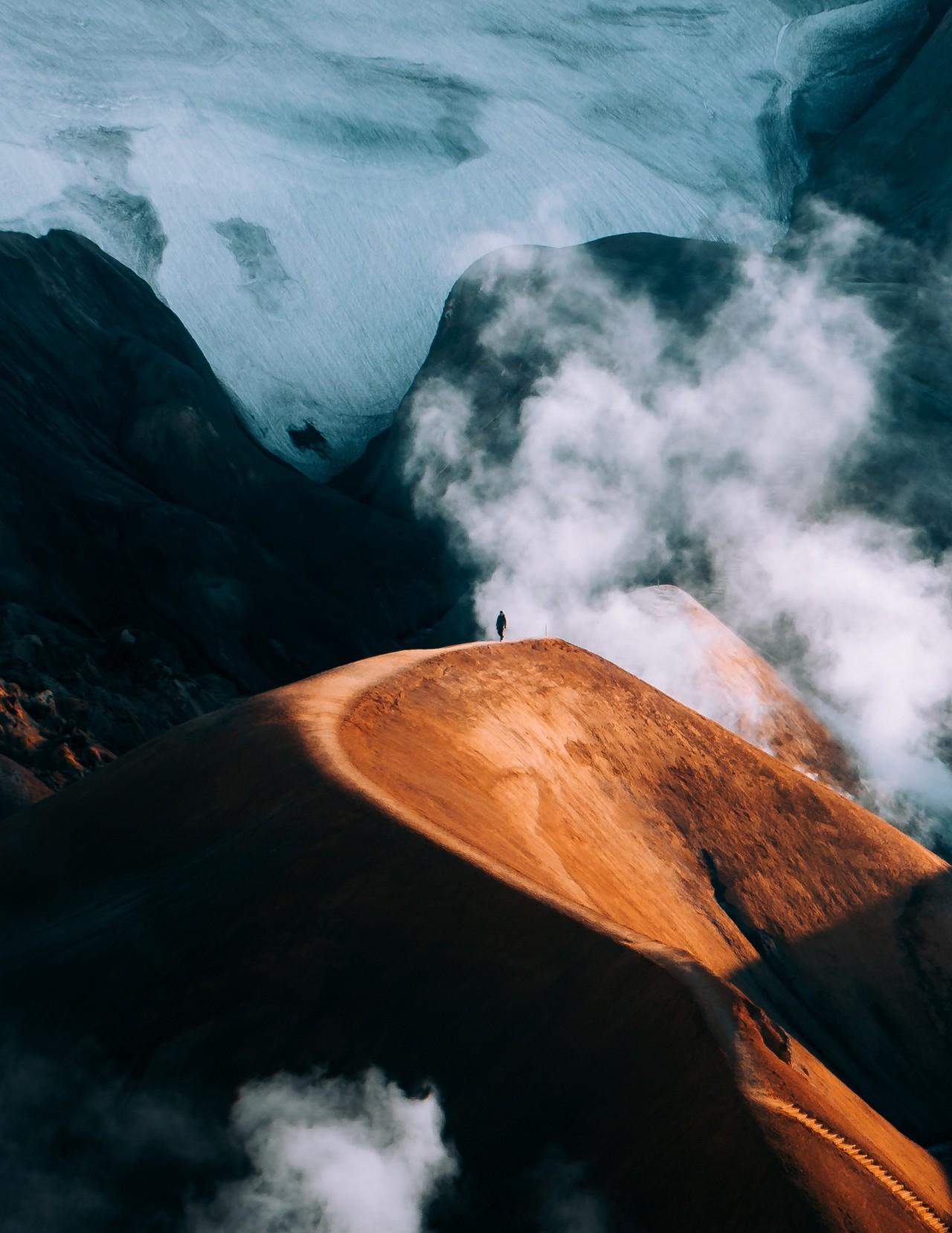 Финалист в категории «Путешествия», «Открытая» номинация, 2020. По туманной Исландии. Автор Джонатан Роджерс