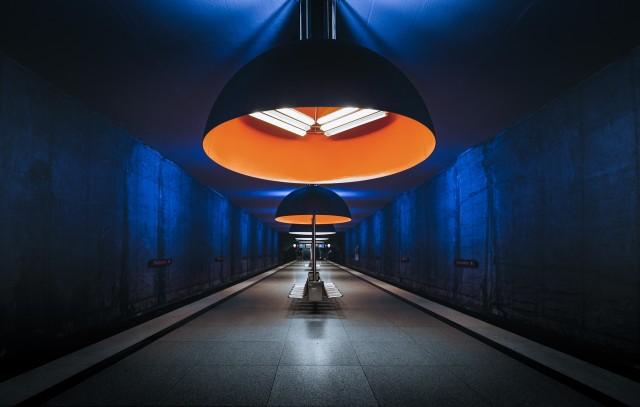 Финалист в категории «Архитектура и дизайн». «Профессиональная» номинация, 2021. Метро Мюнхена. Автор Арвинд Джаяшанкар