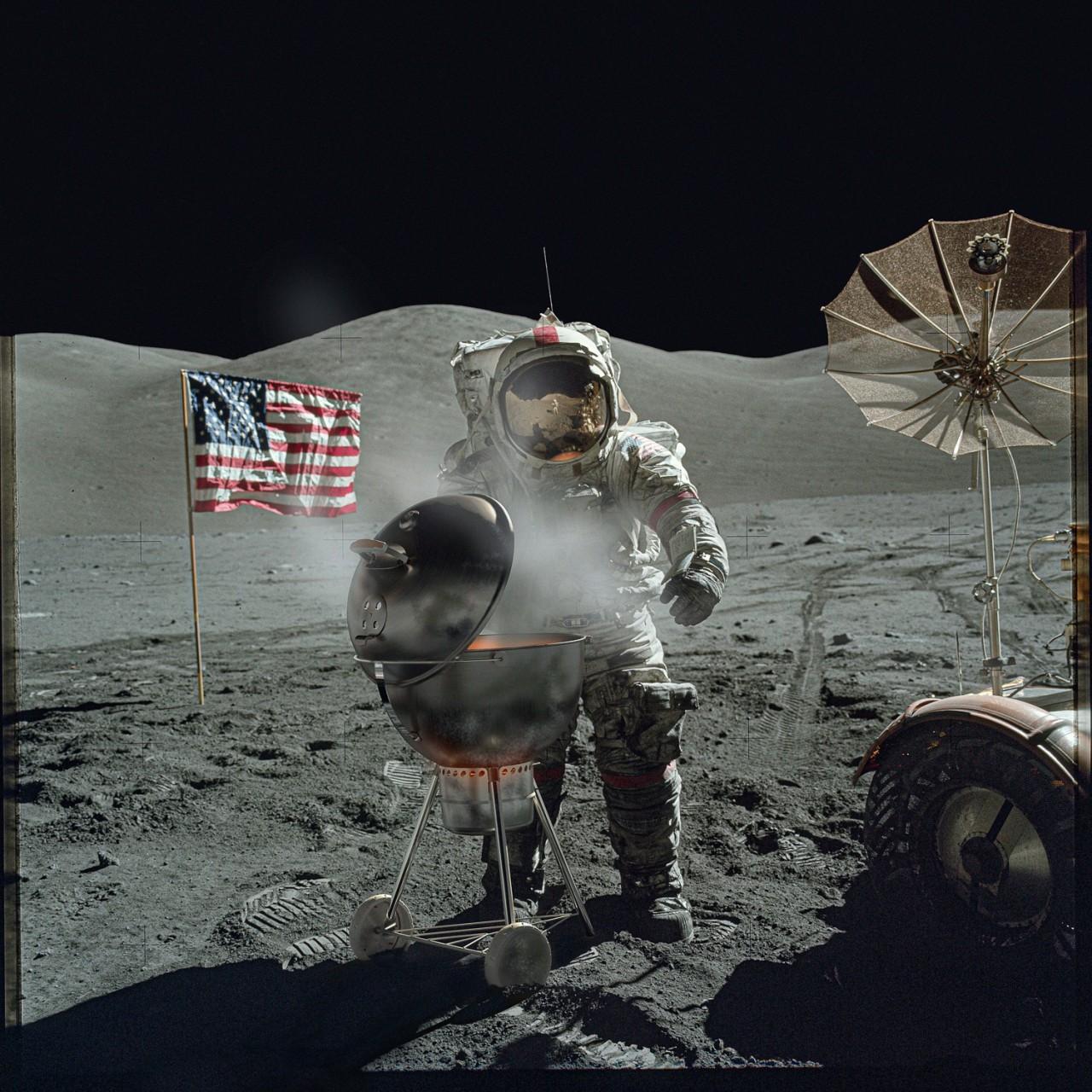 1 место в категории  «Креатив». «Профессиональная» номинация, 2021. «Возвращение на Луну». Автор Марк Гамильтон Гручи