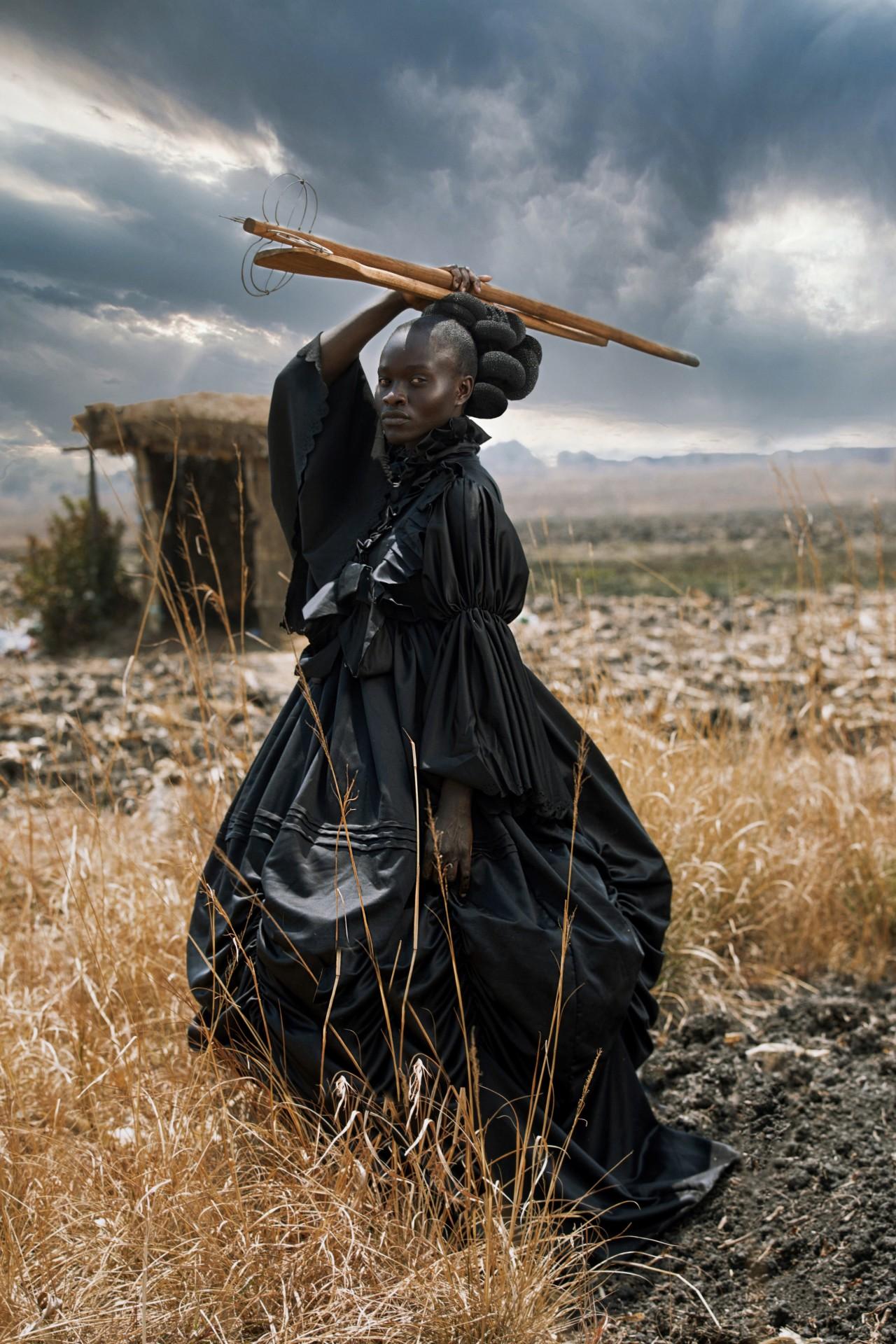«Фотограф года» в «Открытой» номинации и 1 место в категории «Креатив», 2021. «Африканская Виктория». Автор Тамари Кудиту