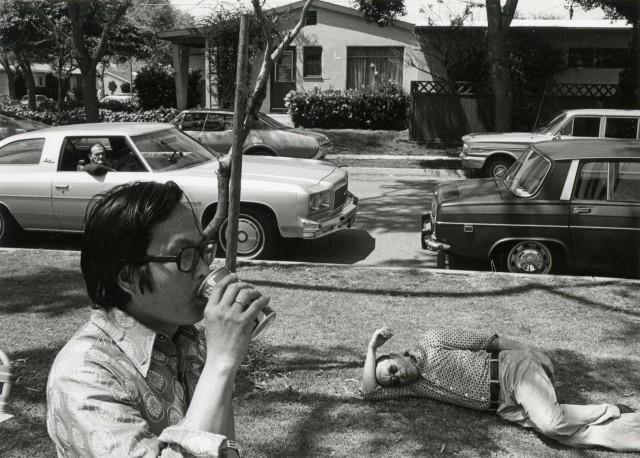 Парк в Лос-Анджелесе, 1975. Фотограф Гэри Крюгер
