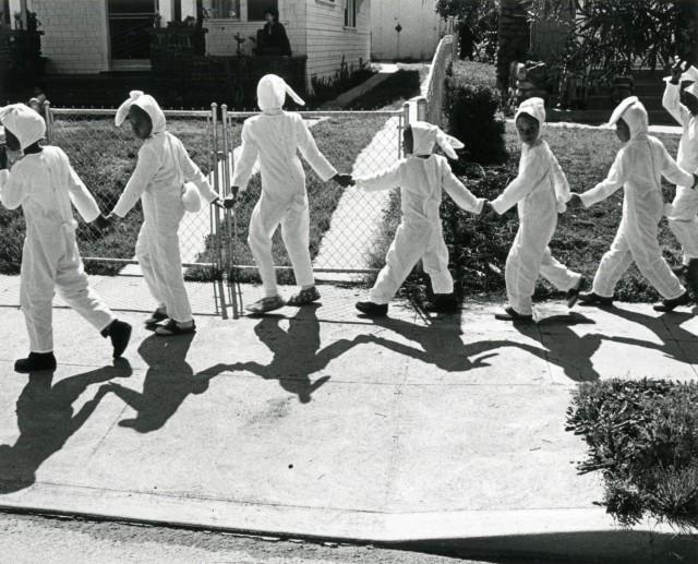 Пасхальный парадв Лос-Анджелесе, 1977. Фотограф Гэри Крюгер