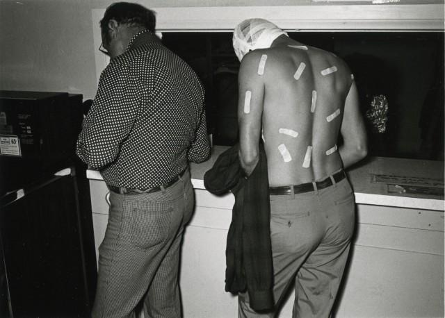 «Потерпевший». Лос-Анджелес, 1979. Фотограф Гэри Крюгер