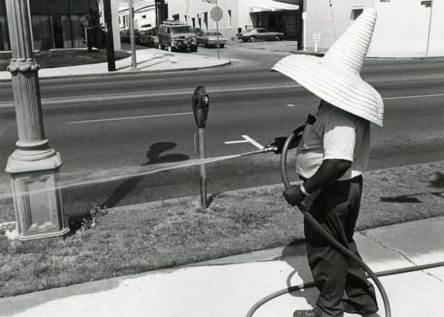 Где-то в Лос-Анджелесе, 1974. Фотограф Гэри Крюгер