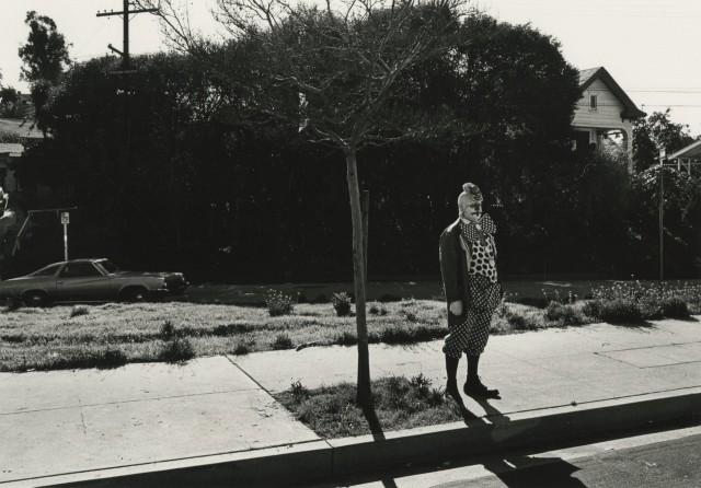 Клоун. Лос-Анджелес, 1975. Фотограф Гэри Крюгер