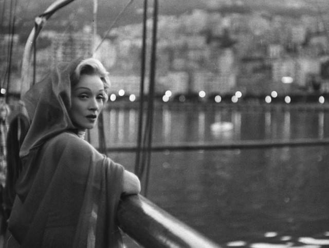 Марлен Дитрих, Монте-Карло, 1956. Фотограф Марио Де Бьязи