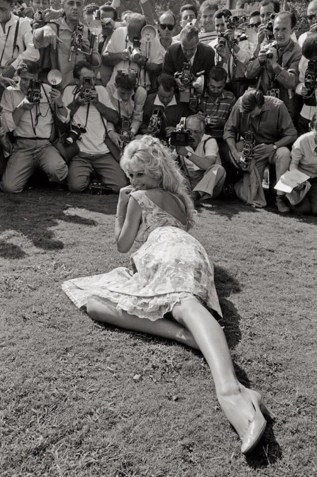 Брижит Бардо, Венеция, 1957. Фотограф Марио Де Бьязи