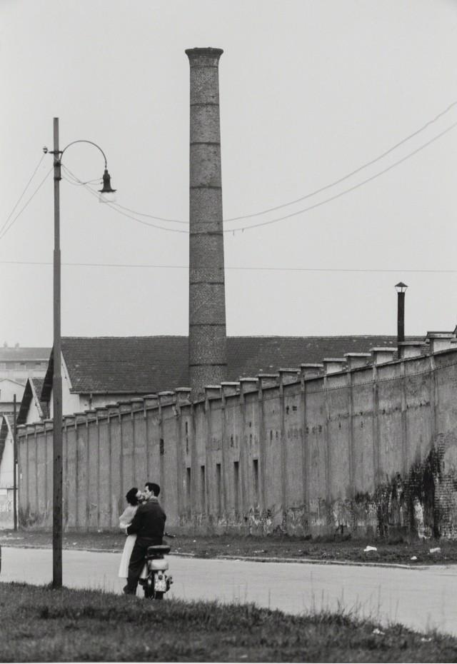 Обеденный перерыв, 1949. Фотограф Марио Де Бьязи