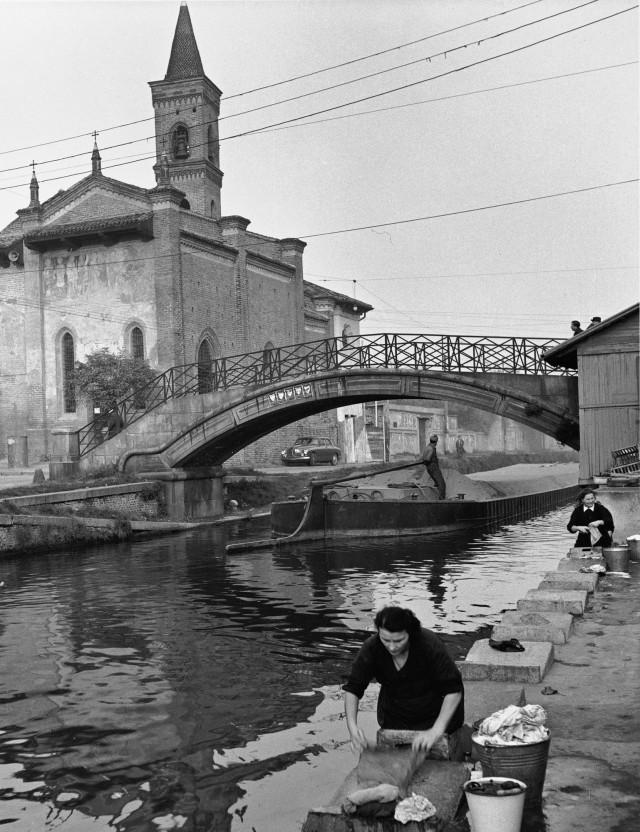 Милан, 1950-е. Фотограф Марио Де Бьязи