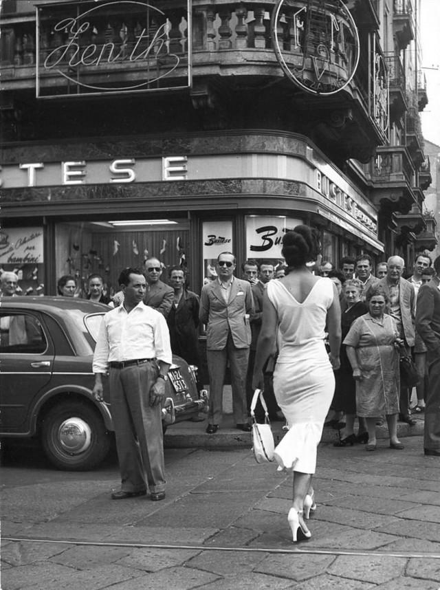 Мойра Орфей, 1954. Фотограф Марио Де Бьязи