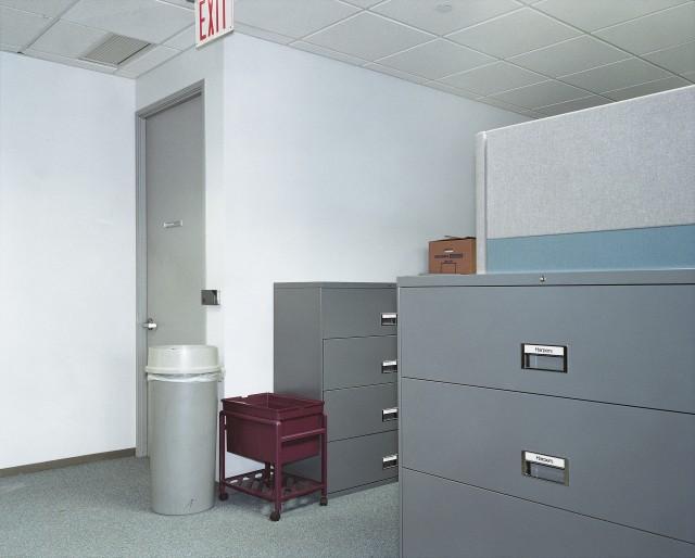 Офис компании, разрабатывающей программное обеспечение. Нью-Йорк, США, 1997. Фотограф Ларс Тунбьёрк