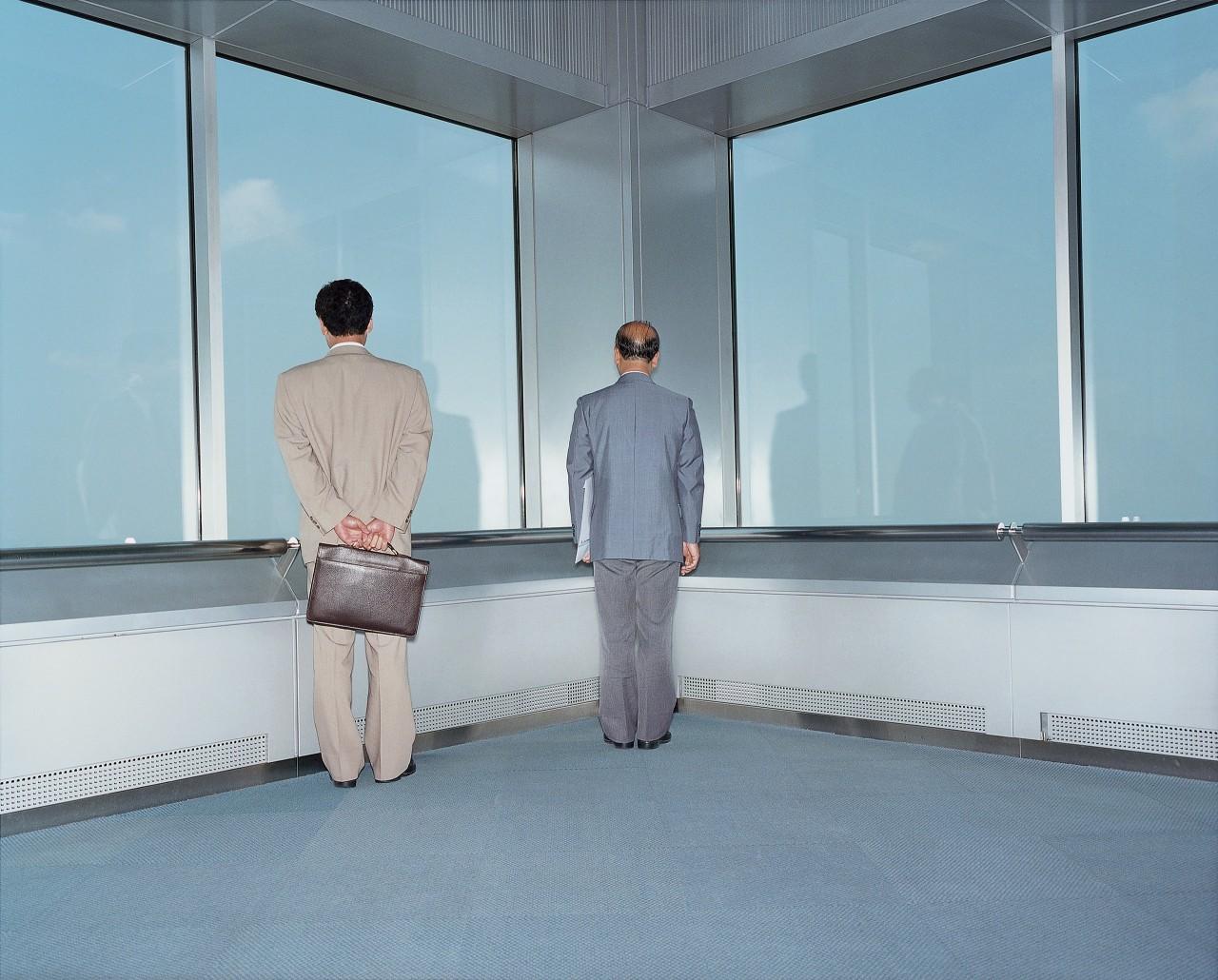 Офис, Япония, Токио, 1996. Фотограф Ларс Тунбьёрк