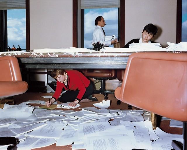 Адвокатская контора, Нью-Йорк, 1997. Фотограф Ларс Тунбьёрк