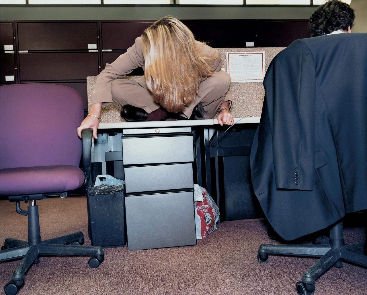 Бухгалтерская фирма, Нью-Йорк, 1997. Из серии «Офис». Фотограф Ларс Тунбьёрк