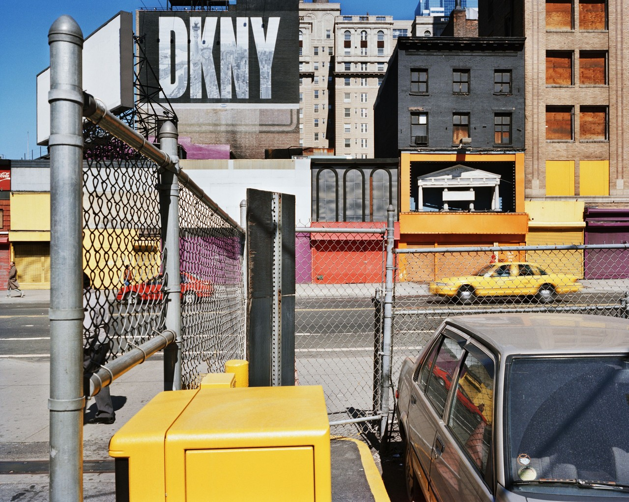 42-я улица около Восьмой авеню, Нью-Йорк, США, 1996. Фотограф Ларс Тунбьёрк