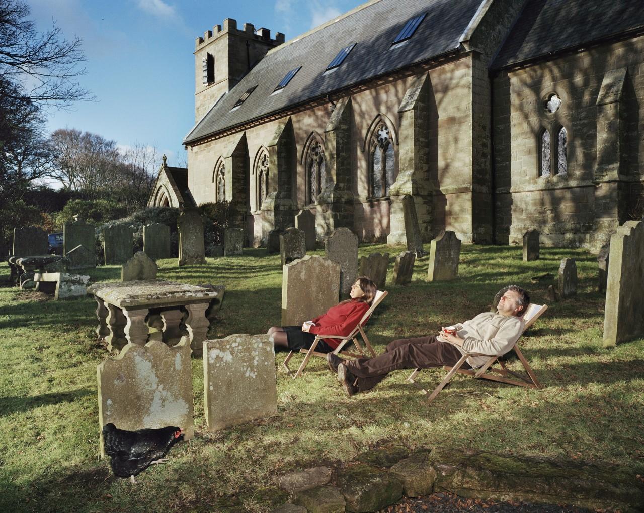 Дом, переоборудованный из старинной церкви. Англия, 2010. Фотограф Ларс Тунбьёрк