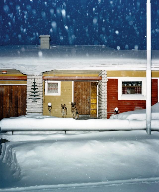 Из серии «Зима». Кируна, Швеция, 2004. Фотограф Ларс Тунбьёрк